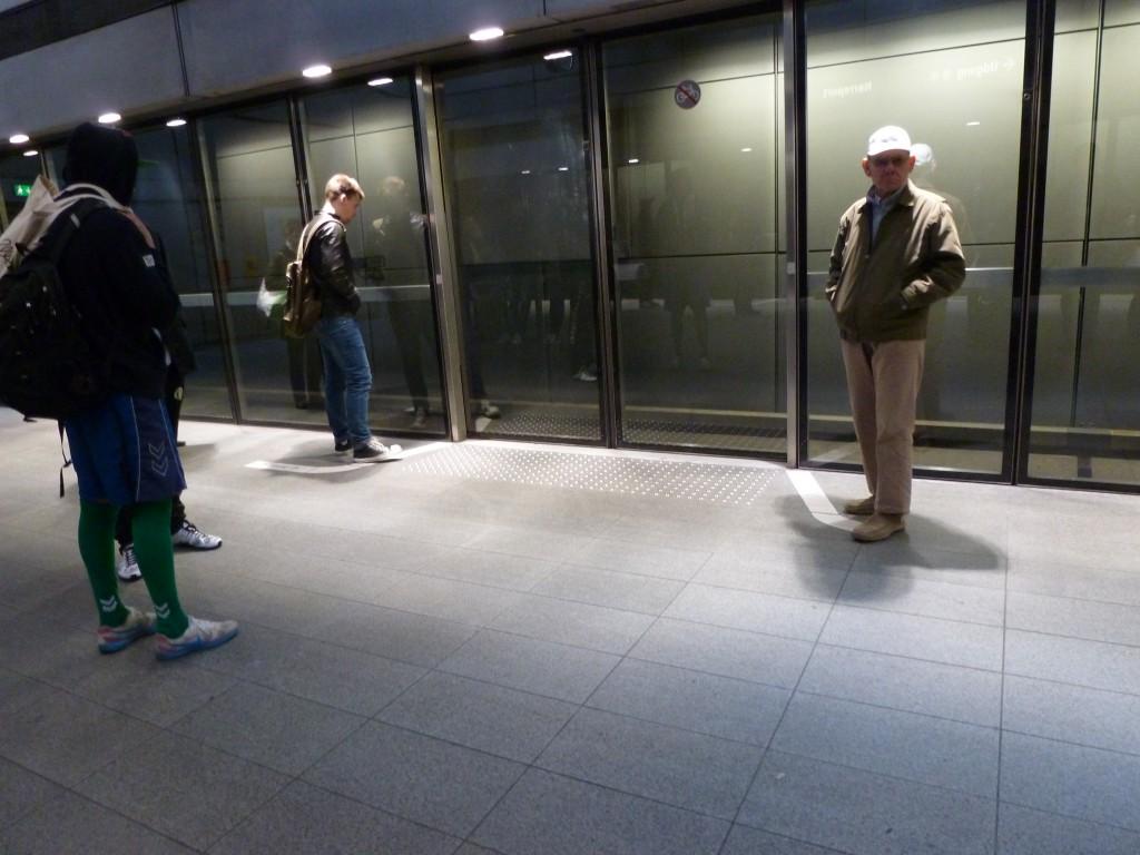 U-Bahnsteig Kopenhagen