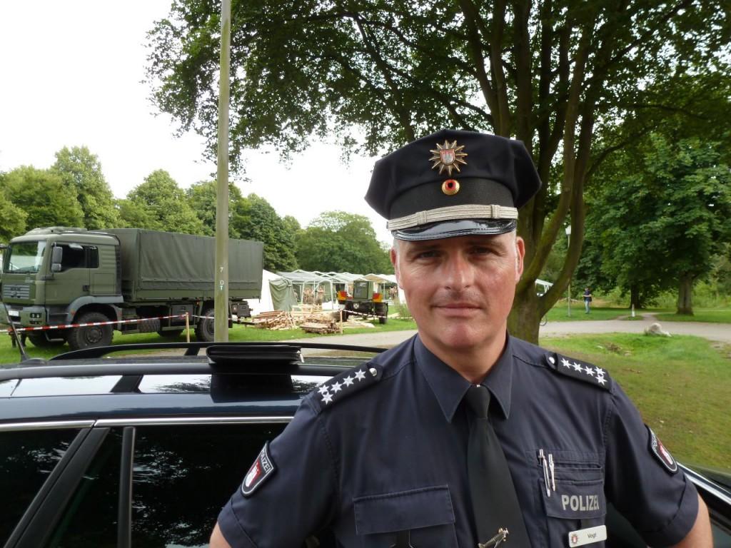 Peter Vogt von der Polizei Hamburg