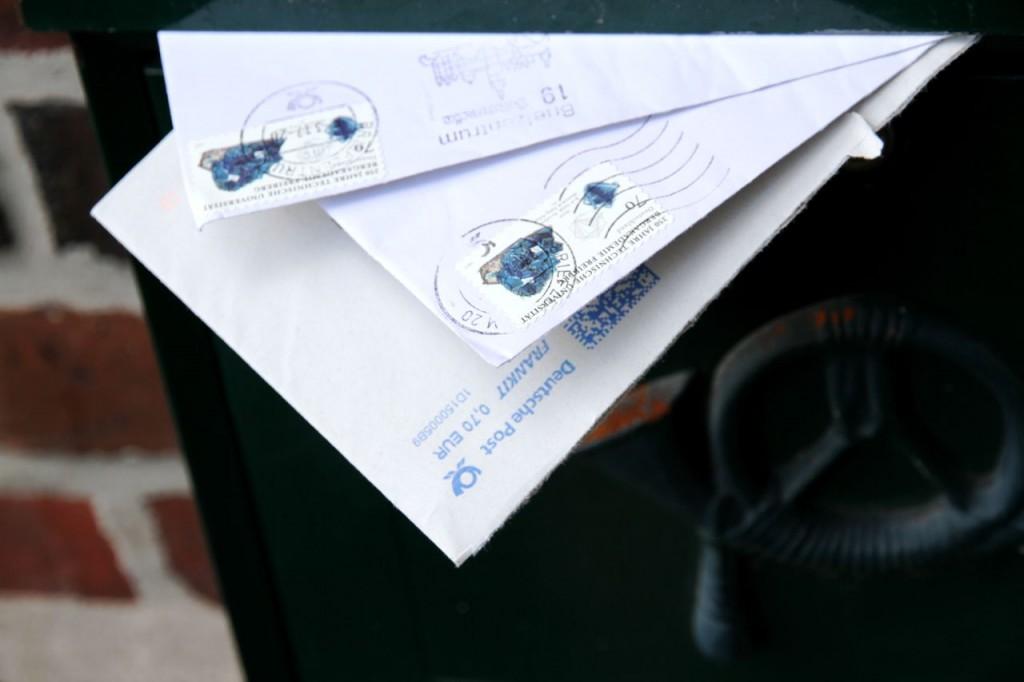 Briefe im Briefkasten